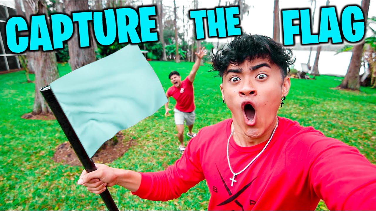 EPIC GAME OF CAPTURE THE FLAG