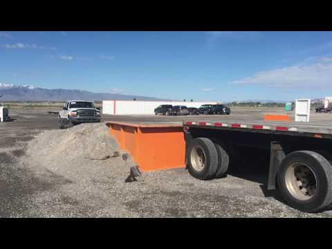 Ritchie Brothers Auctions loading ramp in Salt Lake City Utah