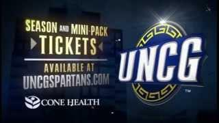 2012 13 uncg men s basketball commercial
