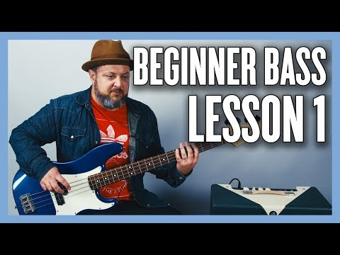 Beginner Bass Lesson