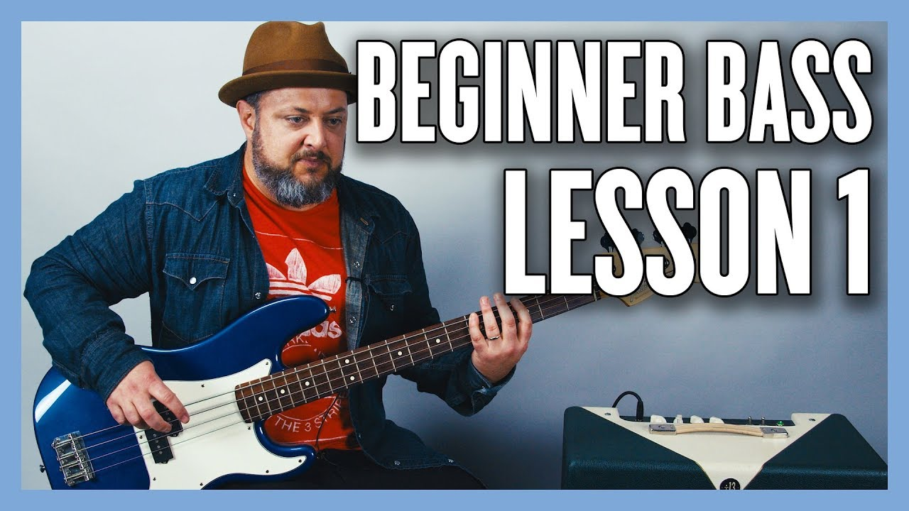 Download Beginner Bass Lesson 1 - Your Very First Bass Lesson