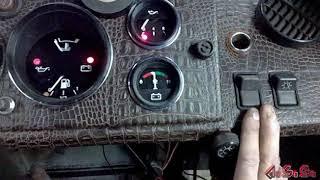 панель приборов на самодельный трактор своими руками