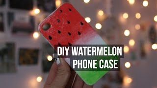 DIY Watermelon Phone Case
