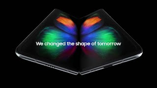Introducing Samsung Galaxy Fold | Samsung Folding Phone | Samsung  Fold Official T.V. Commercial