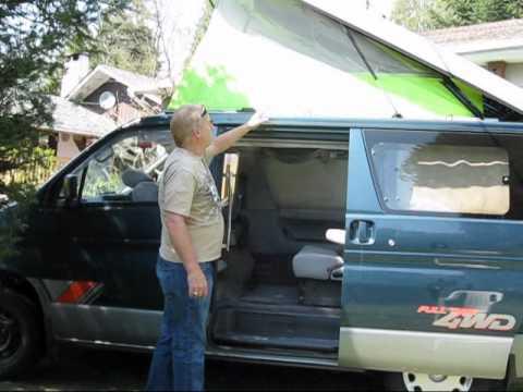 Mazda Bongo Roll Out Awning Sides Funnydog Tv