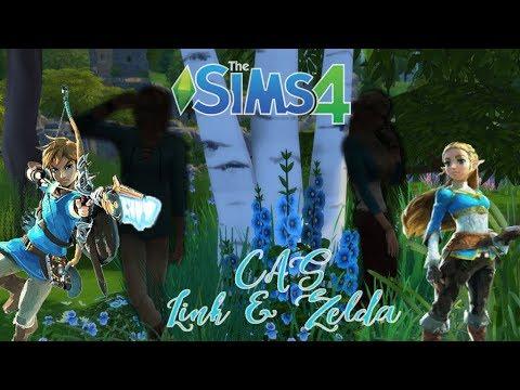 Link and Zelda! | Create-A-Sim