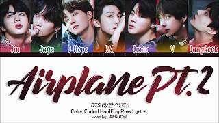Baixar BTS (방탄소년단) - AIRPLANE PT.2 (Color Coded Lyrics Eng/Rom/Han)