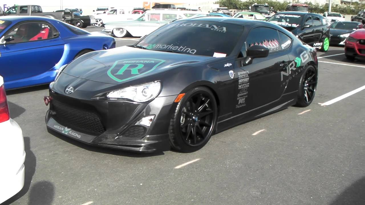 Scion Frs On 19 Quot Staggered Rohana Rc10 Wheels With Matte