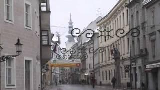 雪のブラチスラバ Winter of Bratislava