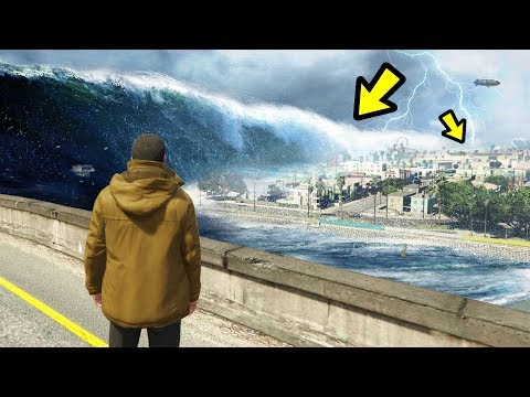 GTA 5 - The ULTIMATE Tsunami in Los Santos!