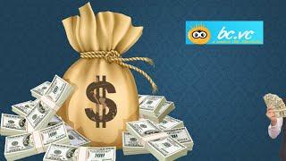 BCVC - كيف لكسب المال مع سهولة URL المقلل قبل الميلاد.vc! 2019