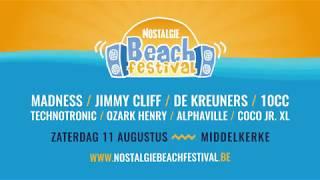 Nostalgie Beach Festival - Zaterdag 11 augustus in Middelkerke