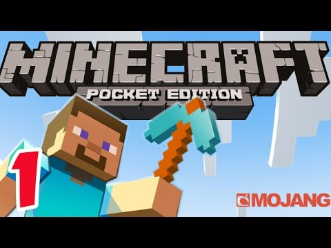 Minecraft PE - Gameplay Part #1 - Survival Mode - Let's Play and Commentary