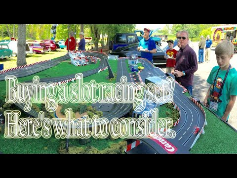 Buying a slot car set?  Here's what to consider