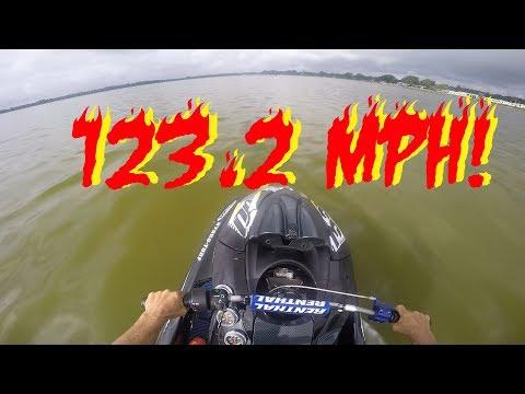 World Record: Yamaha FZR Clocked At 123.2 MPH On Radar Gun At Speed Ally Hydrodrags 2017