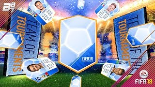 TEAM OF THE TOURNAMENTS PACKED! LIGHTNING ROUND! | FIFA 18 ULTIMATE TEAM