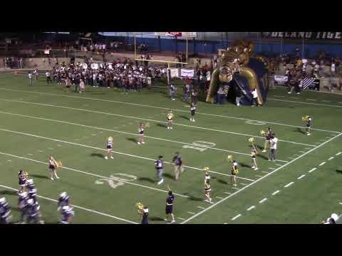 Delano High School Football Tunnel Run-Through 08-23-19