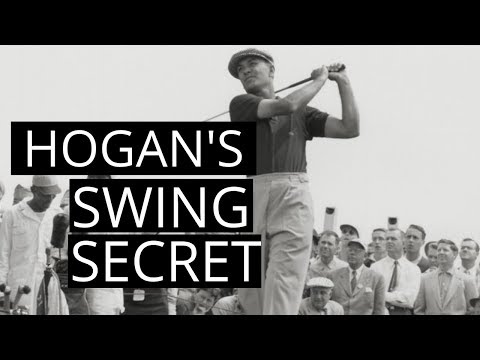 BEN HOGANS GOLF SWING SECRET : HOW DID HE HIT THE BALL STRAIGHT AND FAR?