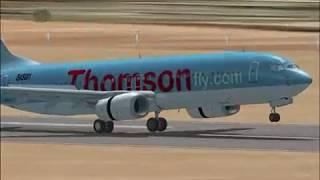 fsx thomson 737 800 vafs flight ibiza bva