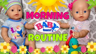 🌴Baby Born Twins! ☀️Morning Routine + Outing With Emma, Ethan & Puppy Max! 🐶