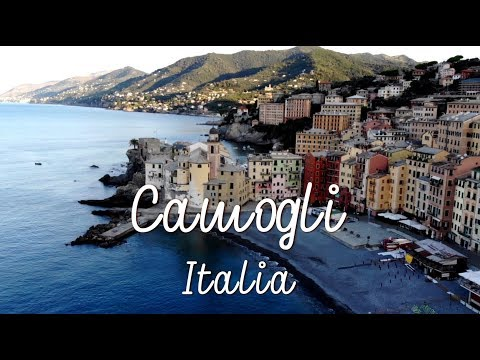 Let's Go To Italy. Camogli 2019. Drone Video.