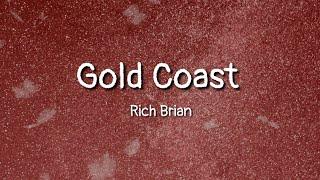 Rich Brian - Gold Coast (lyrics)