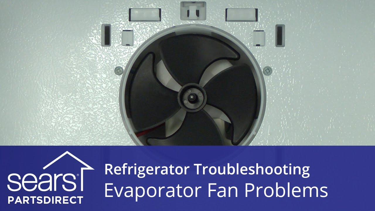 evaporator fan motor troubleshooting