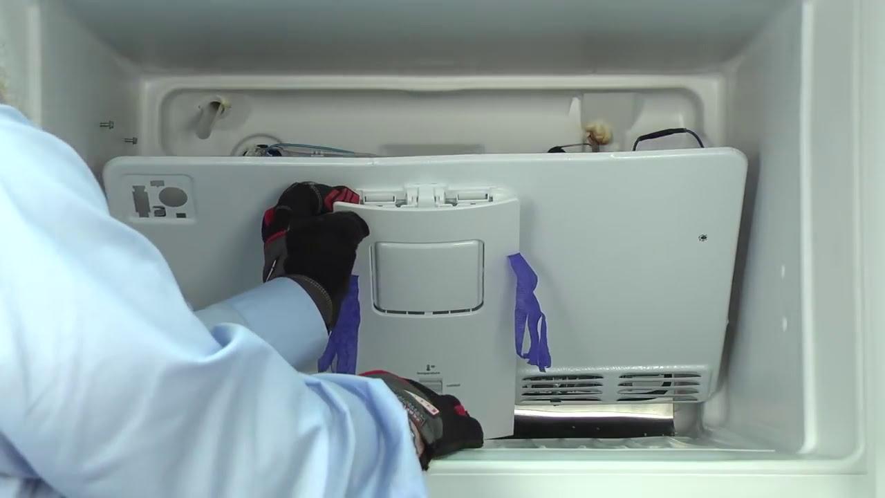 Double Door Parts Diagram Fujitsu Ten Wiring Honda Troubleshooting Evaporator Fan Problems In Refrigerators - Youtube