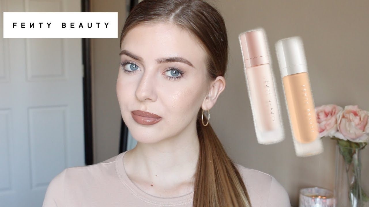Fenty Beauty Foundation Shade 120 Amp Primer Review Amp Demo