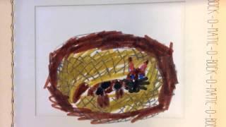 Anouk T. (6 jaar) Poes is ziek