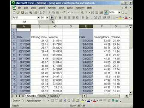 Adjust multiple columns and rows at once in Excel