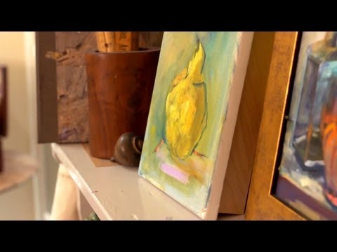 Art Studio Visit | At Home With P. Allen Smith