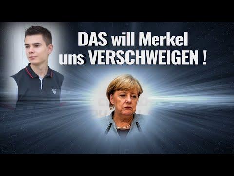 DAS will Merkel uns VERSCHWEIGEN!