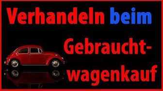 Verhandeln beim Gebrauchtwagenkauf // Dr. Florian Pressler