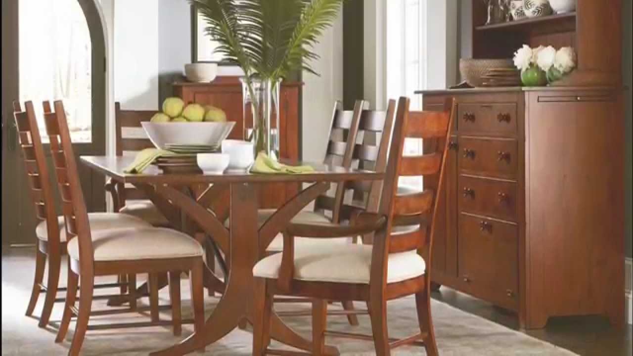 Homecoming Vintage Cherry New River Dining Room from Kincaid - YouTube