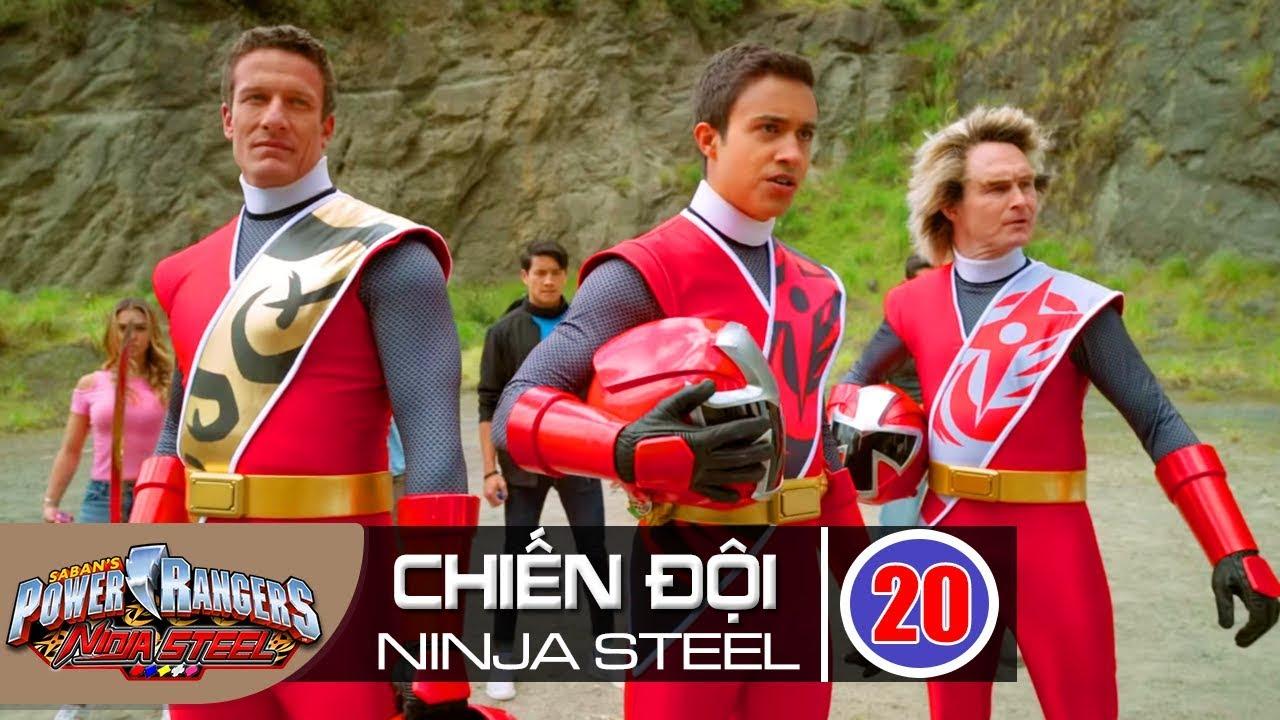 Siêu Nhân Chiến Đội Ninja Steel Tập Cuối : 3 Siêu Nhân Đỏ Lộ Diện