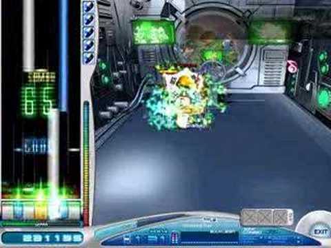 O2Jam: KAZE - Shooting Star HX - level 33 (O2Jam X2 song)