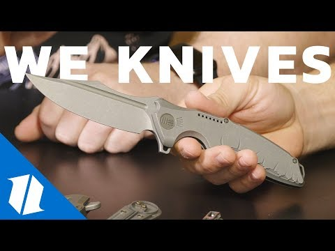 NEW WE Knives | Blade Show 2018