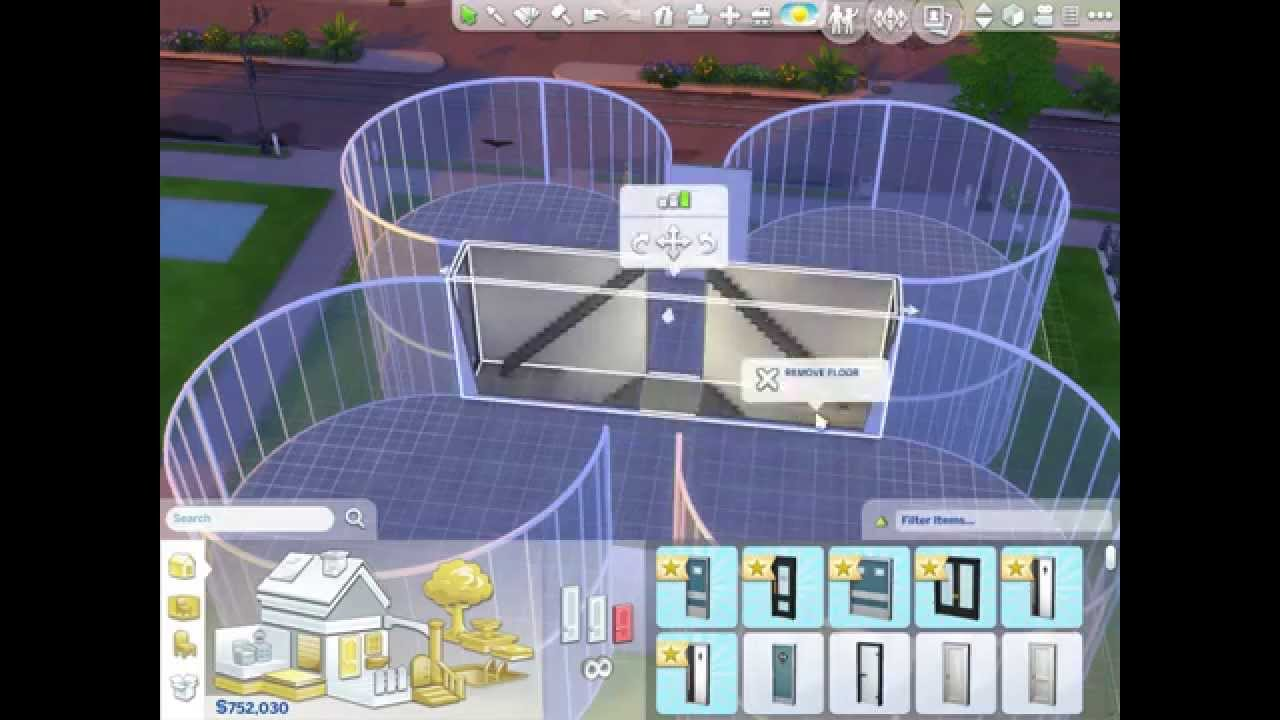 The Sims 4 Building Round Rooms Part 2 Youtube