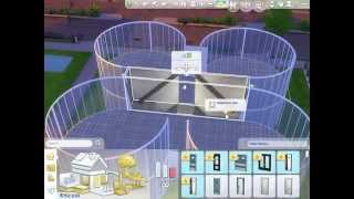 The Sims 4: Building Round Rooms (Part 2)