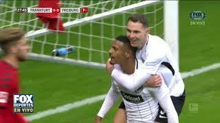 GOL: Frankfurt 1 - Freiburg 0