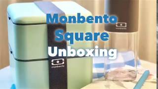 Bento box review - Monbento Square Unboxing