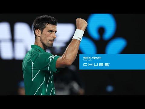 Novak Djokovic Beats Roger Federer On Way To Eighth AO Final | Australian Open 2020 Day 11