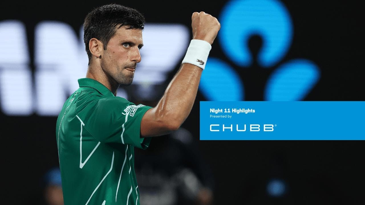 Novak Djokovic beats Roger Federer on way to eighth AO final | Australian Open 2020 Day 11