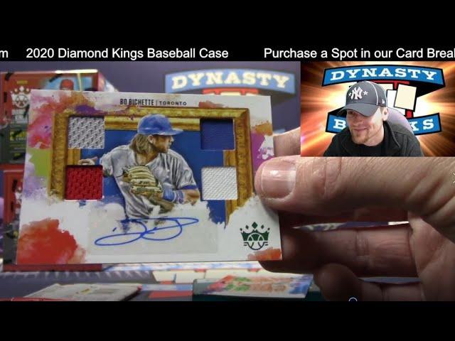 2020 Diamond Kings Baseball Card 12 Box Case Break #5   Sports Cards