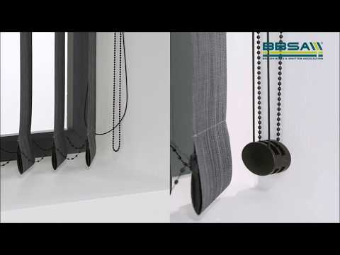 BBSA Make It Safe - How To Make Verticals Blinds Safer