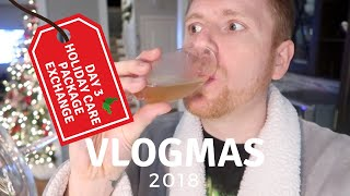 Vlogmas Day 3: Holiday Care Package Exchange with Jennifer Ross