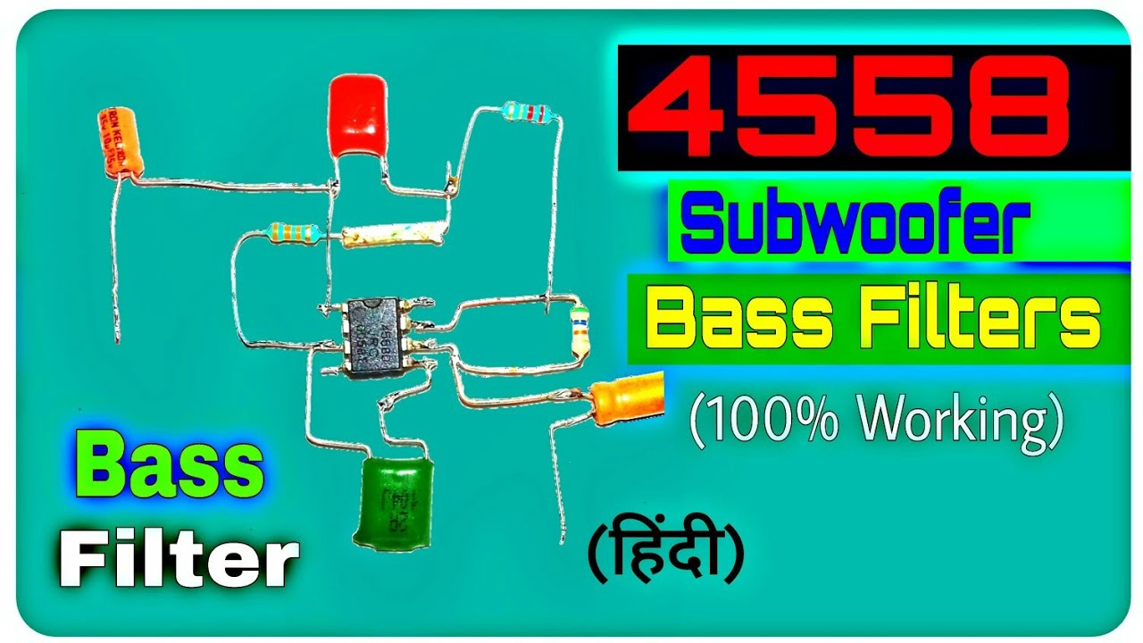 4558 Bass Filters बनाऐ। || Only Bass || (You Like Electronic)