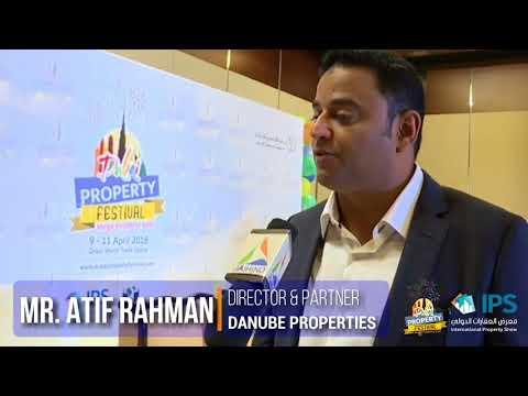 Danube Interview @ Dubai Property Festival