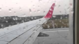 Regent airways 737 700 takeoff from KUL
